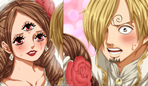 sanji and pudding