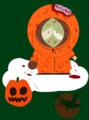 zombie Kenny - south-park fan art