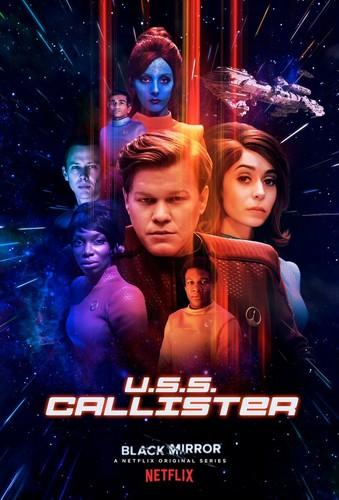 "Black Mirror wallpaper entitled Black Mirror Season 4 ""U.S.S. Callister"" Episode Poster"
