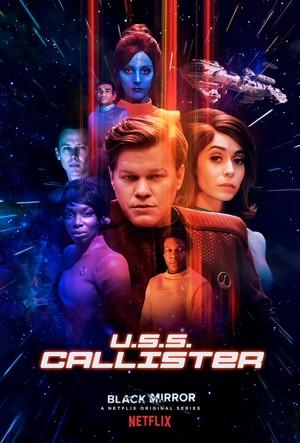 'Black Mirror' Season 4 ~ 'U.S.S. Callister' Promotional Poster