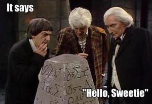 'Hello Sweetie'