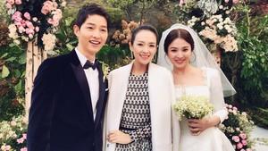 @Wedding song hye kyo and song joong ki