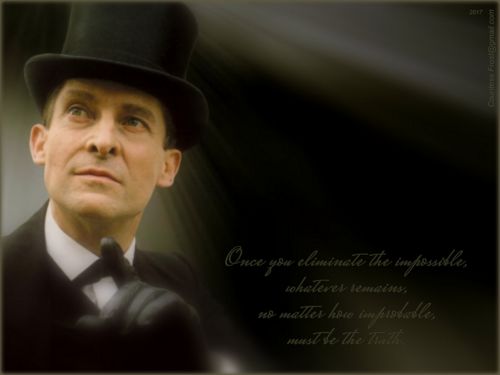 Sherlock Holmes 바탕화면 titled ...impossible (1024x768)