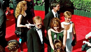 1998 Emmys - David Hyde Pierce & Jane Leeves