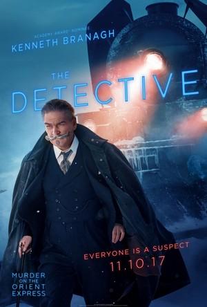 2017 Character Posters - Hercule Poirot