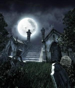 40337 Spooky Cemetery