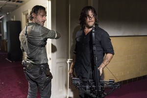 8x02 ~ The Damned ~ Daryl and Rick