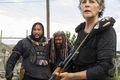 8x04 ~ Some Guy ~ Carol, Ezekiel and Jerry - the-walking-dead photo