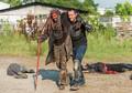 8x04 ~ Some Guy ~ Ezekiel and Alvaro - the-walking-dead photo