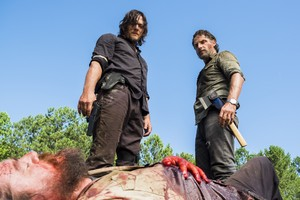 8x05 ~ The Big Scary U ~ Daryl and Rick