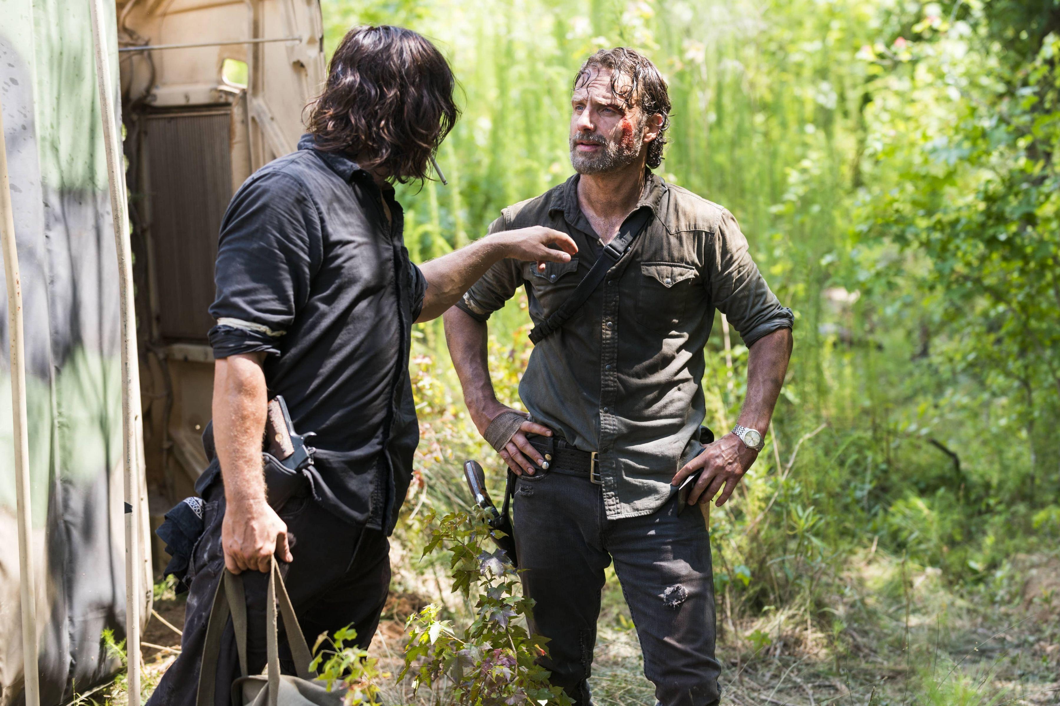 8x05 ~ The Big Scary U ~ Daryl and Rick