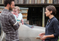 8x06 ~ The King, the Widow and Rick ~ Aaron, Maggie and Gracie - the-walking-dead photo