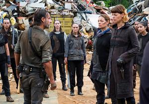 8x06 ~ The King, the Widow and Rick ~ Rick, Jadis and Tamiel