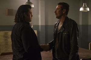 8x07 ~ Time for After ~ Eugene and Negan