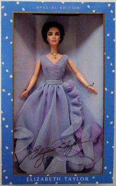 A Vintage Elizabeth Taylor Doll