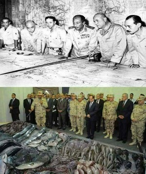 ANWAR ELSADAT ELSISI EGYPT ARMY BALAMB isda