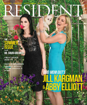Abby Elliott and Jill Kargman - Resident Magazine Cover - 2016