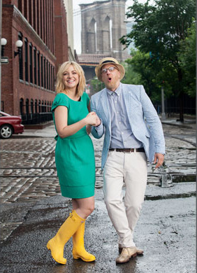 Abby and Chris Elliott - Delta Sky Photoshoot - 2012