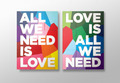 All We Need Is Love/Love Is All We Need - love fan art