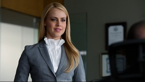 Amanda as Katrina in suits