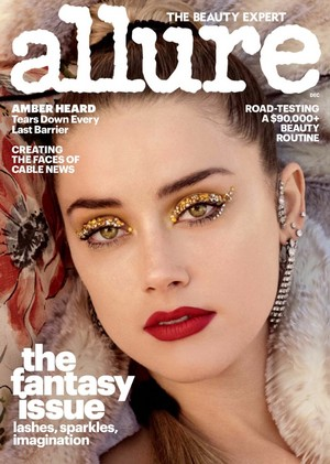Amber Heard - Allure Cover - 2017