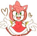 Amy wants a hug!  - sonic-the-hedgehog photo