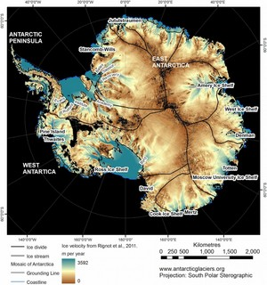 Antarctica Without The Ice Sheet