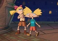Arnold and Helga  - tv-couples photo