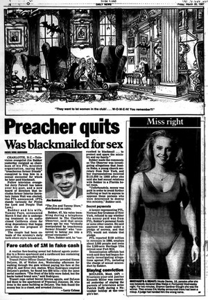 Article Pertaining To 1987 PTL Scandal