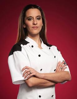 Hell's keuken-, keuken achtergrond called Ashley Nickell (Season 17: All Stars)