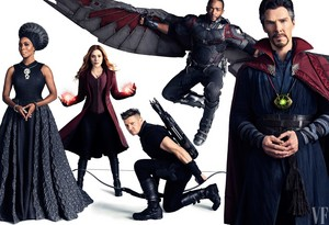Avengers: Infinity War Photoshoot at Vanity Fair