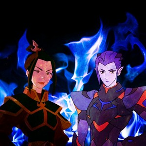 Azula and Acxa