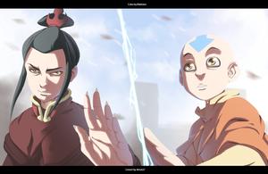 Azula vs Aang