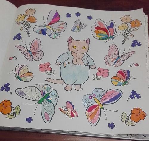 Beatrix Potter wallpaper entitled Beatrix Potter Colouring Book