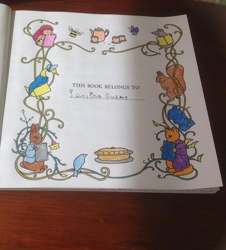Beatrix Potter wallpaper titled Beatrix Potter Colouring Book