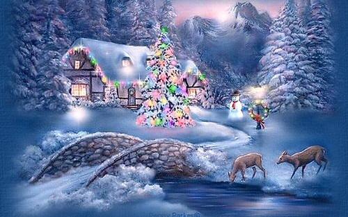 Krismas kertas dinding entitled Beautiful Krismas 🎄