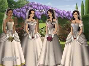 Beautiful brides I made