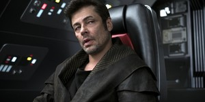 Benicio Del Toro in The Last Jedi