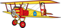 Betty & Sally on the Biplane Anime Render - betty-boop photo