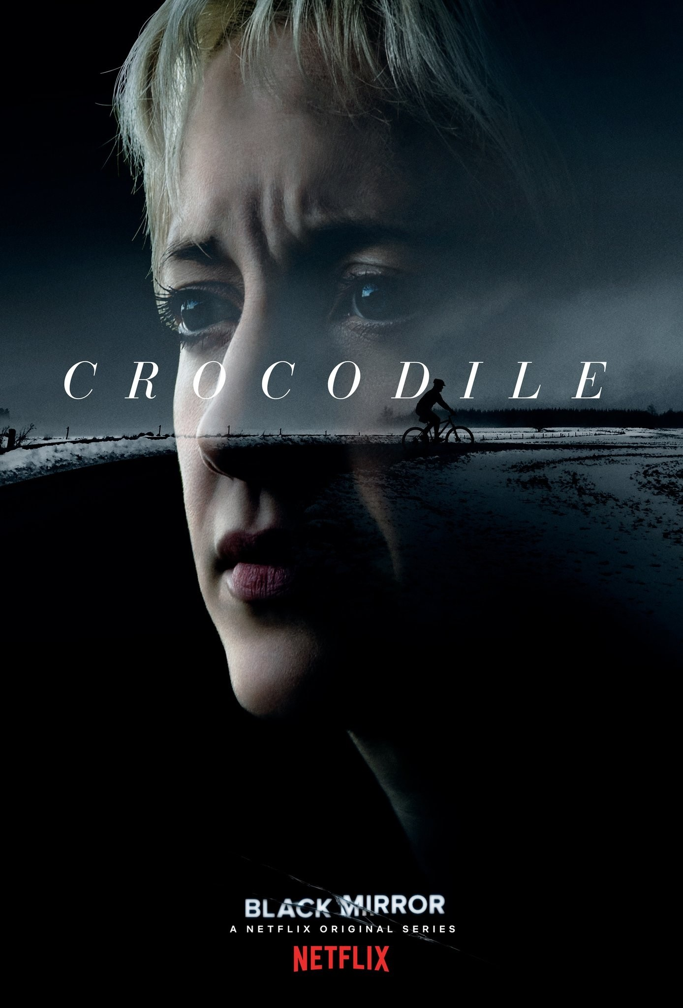 "Black Mirror Season 4 ""Crocodile"" Episode Poster"