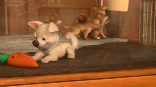 Bolt the dog karatasi la kupamba ukuta called Bolt