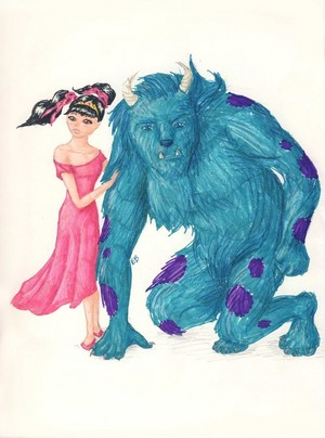 Boo and the Beast (Beauty and the Beast)