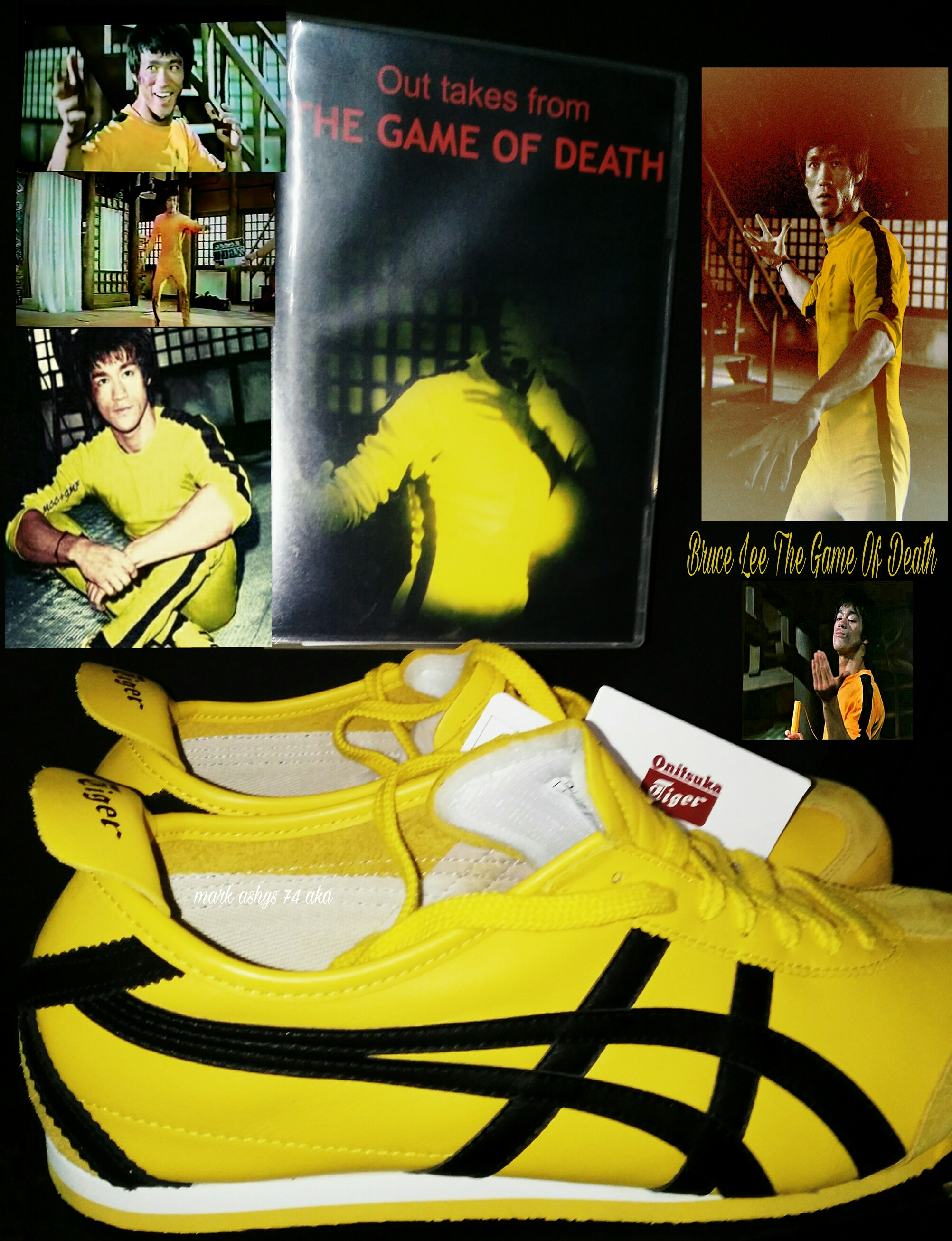 quality design ce983 5ea26 Bruce Lee Game of Death outtakes onitsuka Tiger Mexico 66 ...