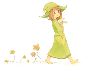 Chara and a Trial of Golden flores