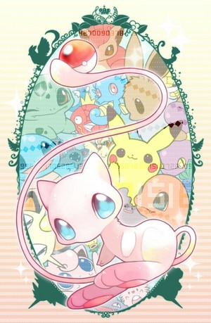 Chibi Mew and Friends
