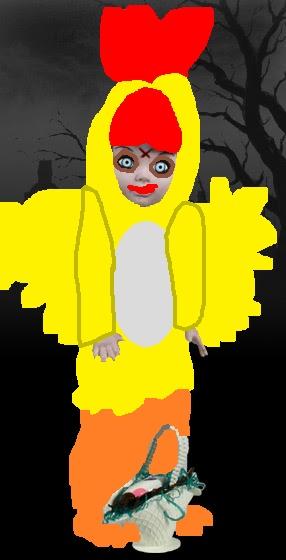Chicken Elmo