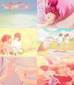 Chihiro and Haku - spirited-away photo