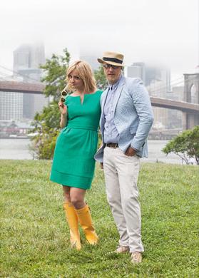Chris and Abby Elliott - Delta Sky Photoshoot - 2012