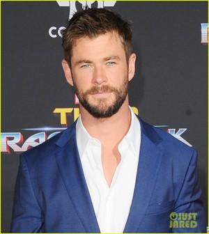 Chris at Thor Ragnarok premiere