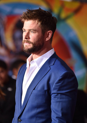 Chris at Thor Ragnarok premiere